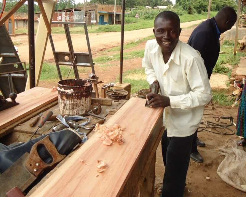stephen-christmas-carpenter-muringi-furniture-workshop